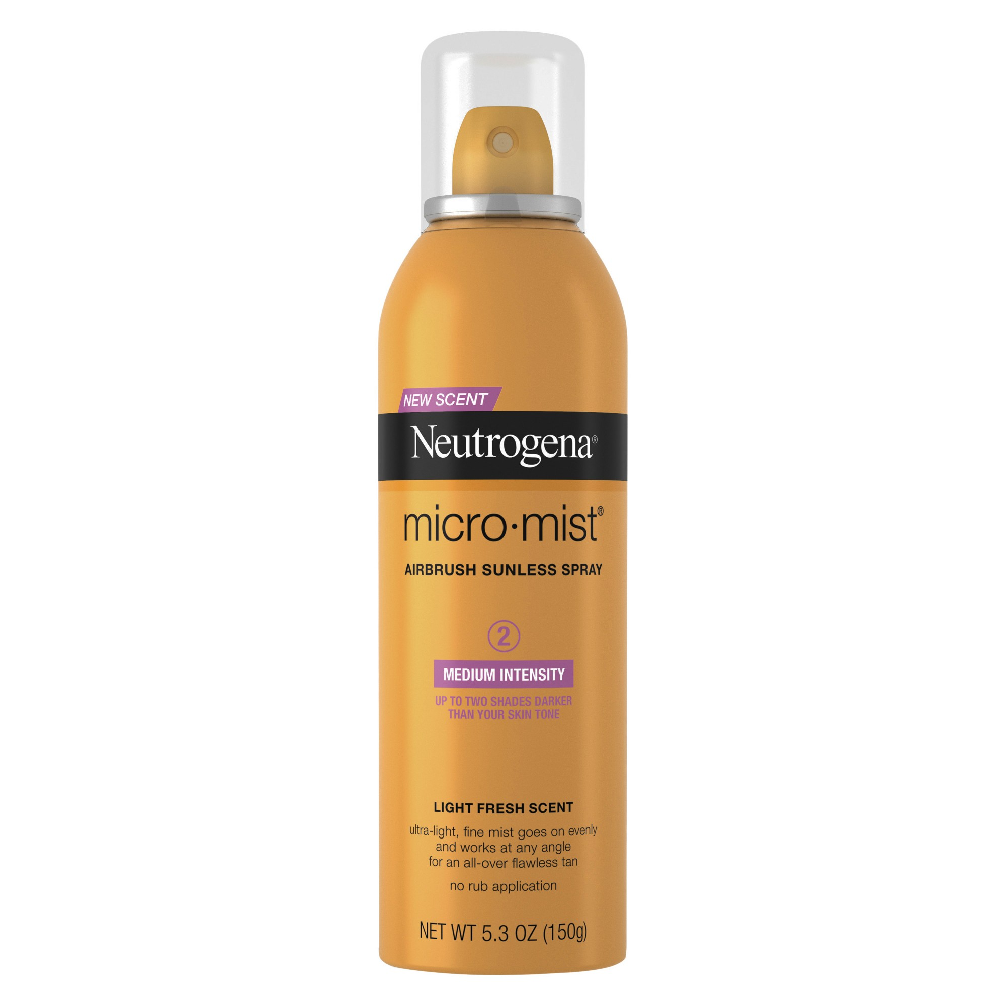 Neutrogena Micromist Airbrush Sunless Tanning Spray, Medium - 5.3oz
