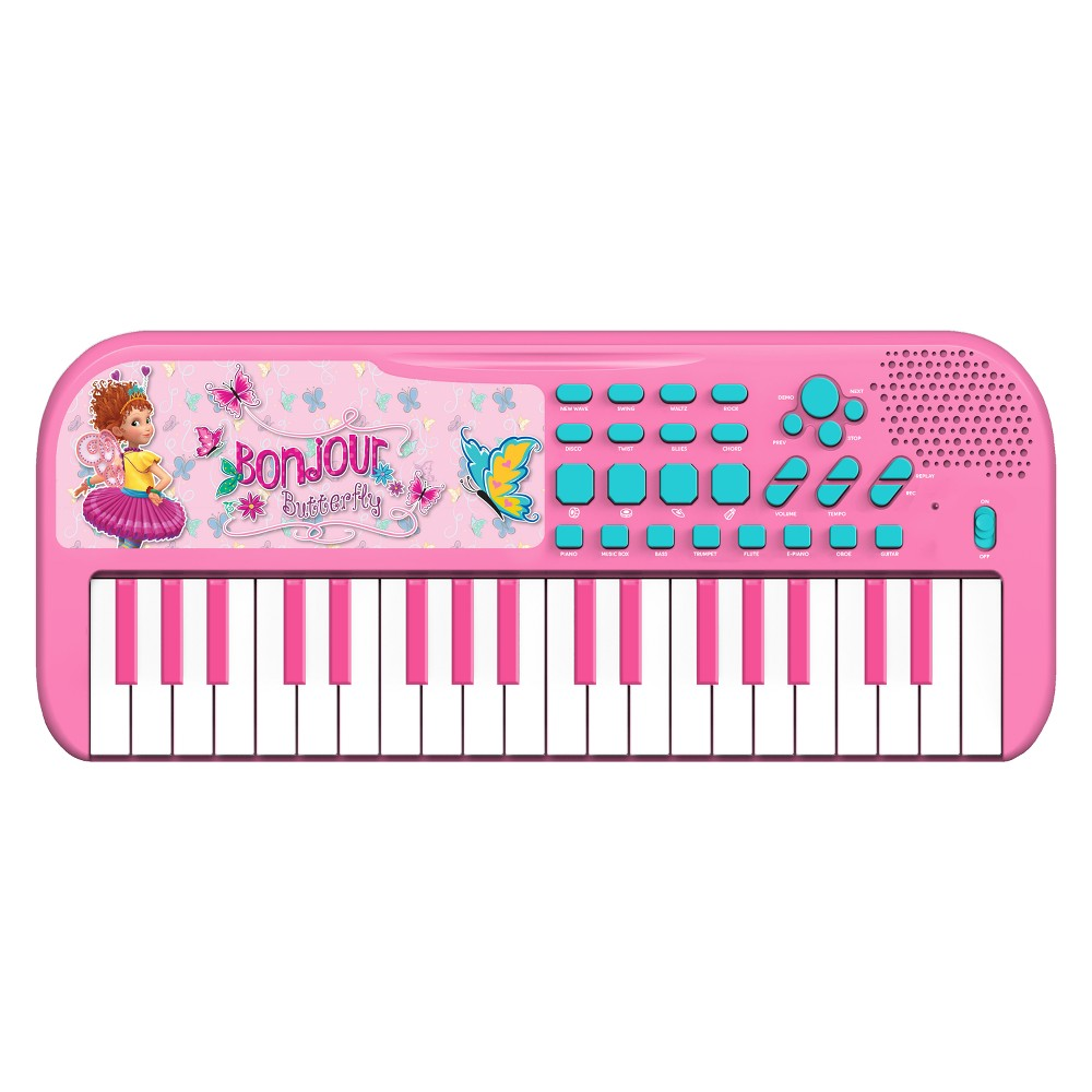 First Act Licensed Keyboard - Fancy Nancy Loaded with songs, sounds and rhythms! Play with 37 keys, tons of key sounds, rhythms and demo songs. Plus, record and playback feature for writing songs! Gender: Unisex.