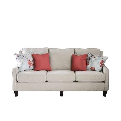 Vieta Upholstered Sofa Ivory - HOMES: Inside + Out