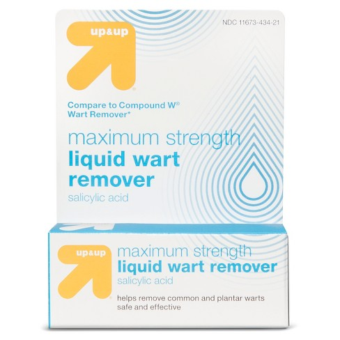 Liquid Wart Remover - 0.5oz - Up&Up™ (Compare to Compound W Wart Remover) - image 1 of 1