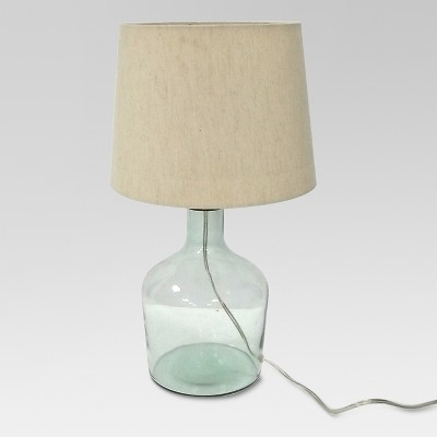 Design For Good Recycle Glass Table Lamp Cream (Includes Energy Efficient Light Bulb)- Threshold™