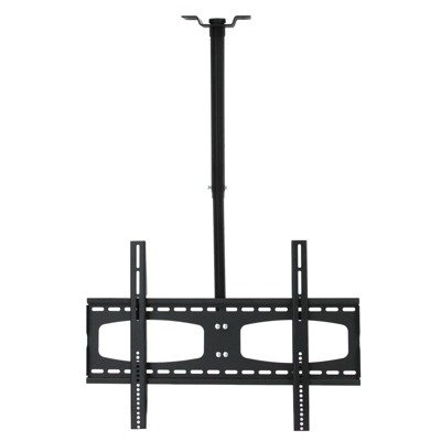 Tilt And Rotate Adjustable Height Ceiling Television Monitor