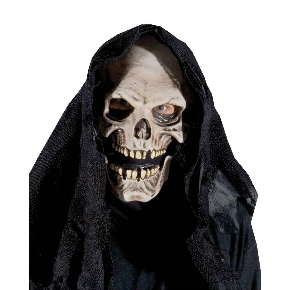 Image of Halloween Grim Reaper Costume Mask, Men's