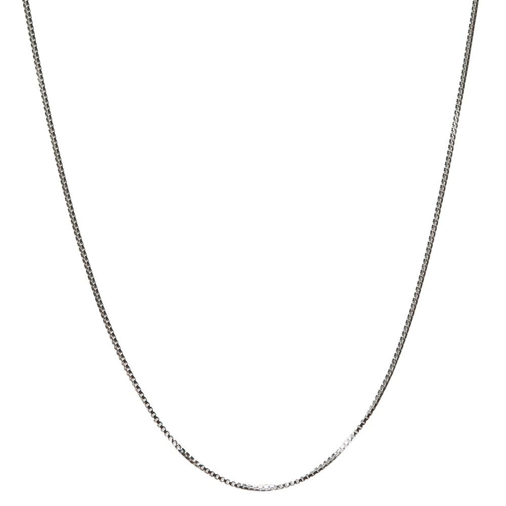 Men's Sterling Silver Box Chain - 18