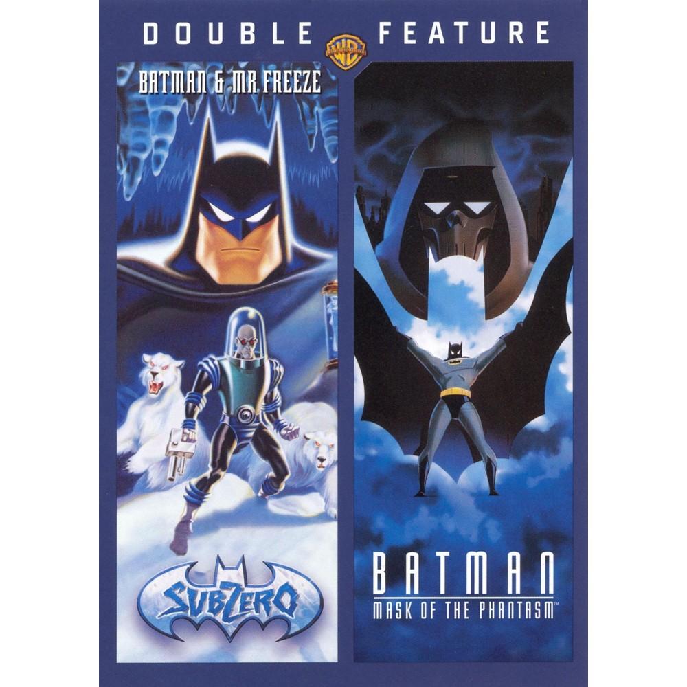 Batman Mask Of The Phantasm Batman And Mr Freeze Sub Zero Dvd