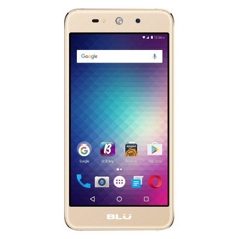 BLU Grand Energy G130Q (GSM Unlocked) 8GB Smartphone - Gold - image 1 of 2