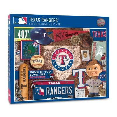 MLB Texas Rangers Find Joe Journeyman Puzzle 500pcs