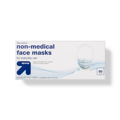 Face Mask Non Medical - 50ct - up & up™