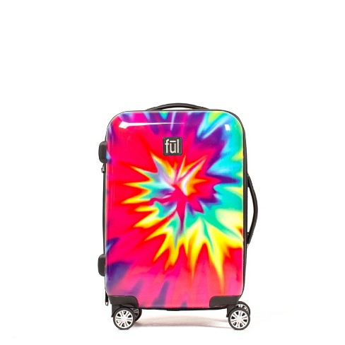 "FUL 20"" Hardside Spinner Suitcase - Tiedye Swirl - image 1 of 4"