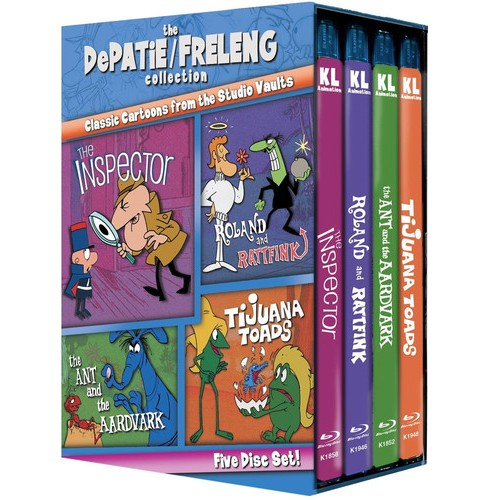 Depatie/Freleng Collection:Vol 1 (Blu-ray) - image 1 of 1