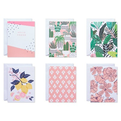 50ct Blank Cards with Envelopes Greenery