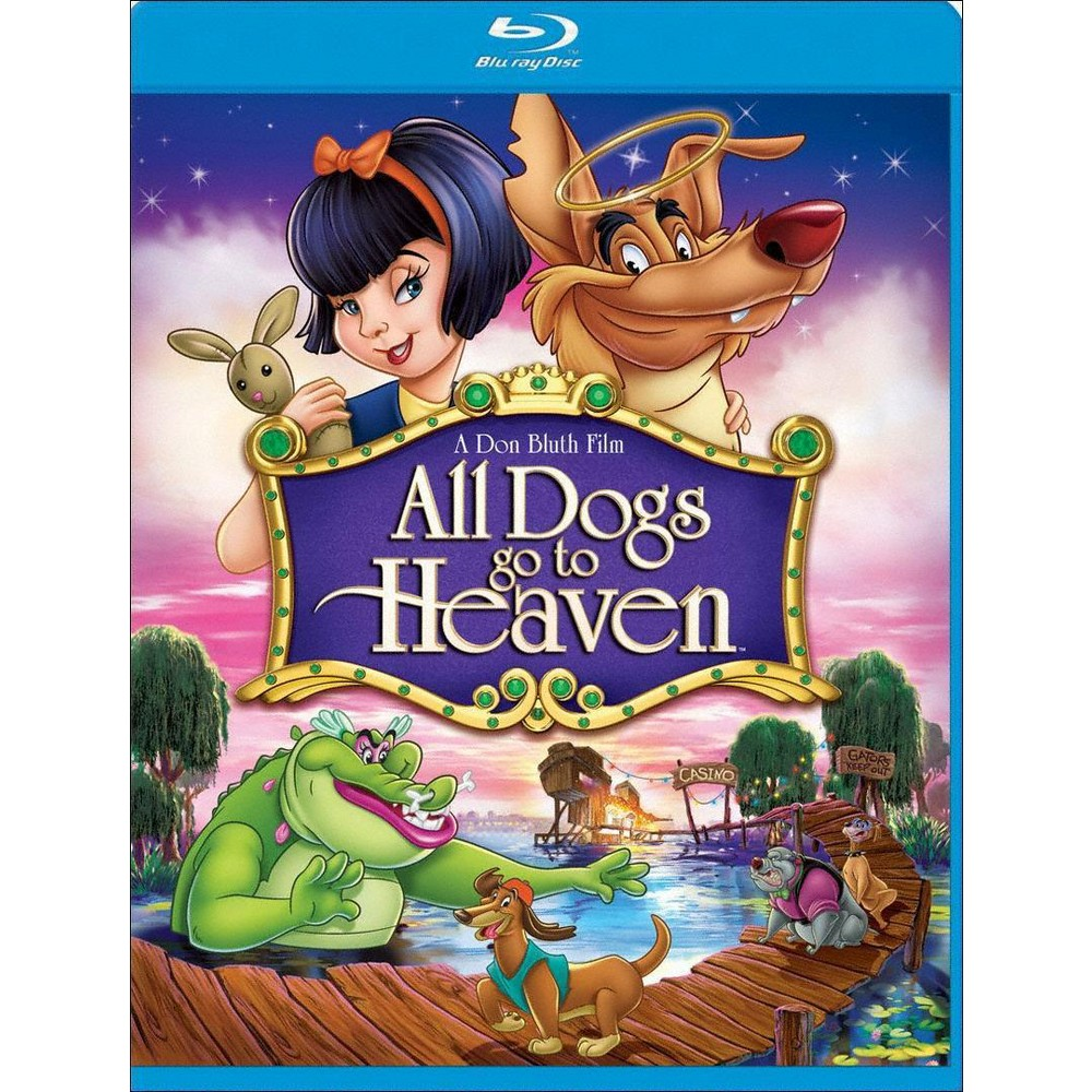 All Dogs Go To Heaven (Blu-ray)(2011) Promos