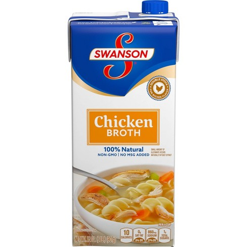 Swanson Chicken Broth 100% Natural 32oz - image 1 of 4