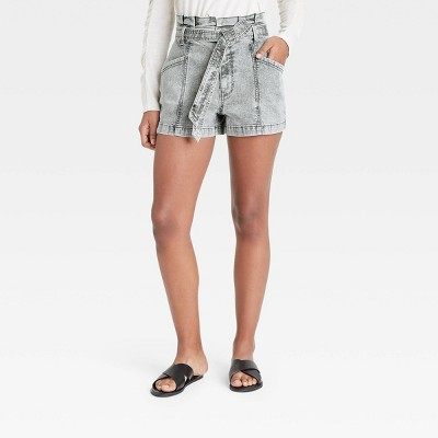 Women's High-Rise Paperbag Shorts - Universal Thread™