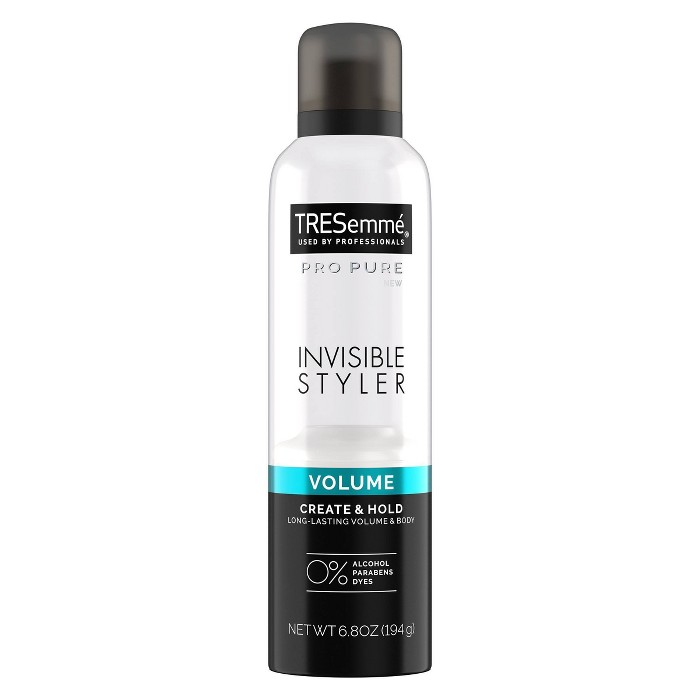 TRESemme Pro Pure Invisible Styler Volume Hair Styling Spray - 6.8oz : Target