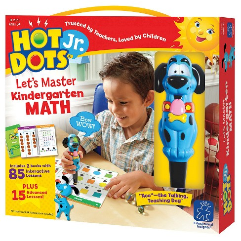 Hot Dots Jr. Let's Master Kindergarten Math - image 1 of 1