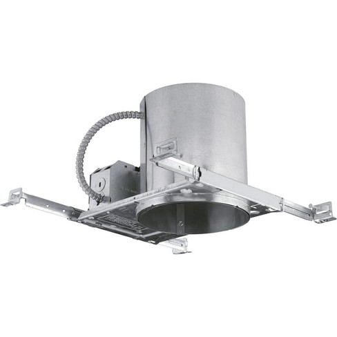 """Progress Lighting P87-LED 6"""" IC Rated and New Construction Housing for LED Trims -Title 24 Compliant - image 1 of 1"""