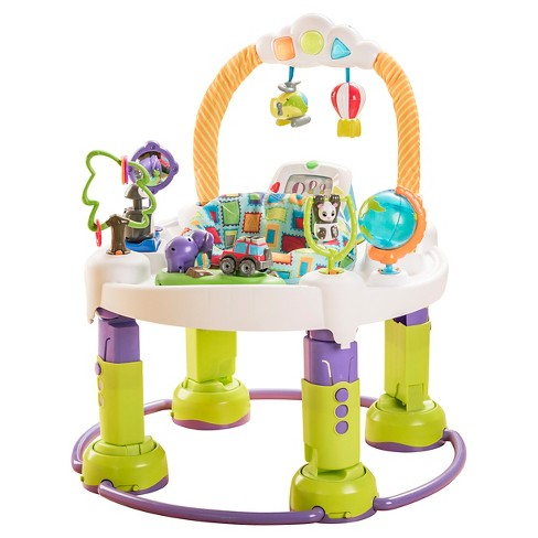 Evenflo® ExerSaucer Triple Fun Entertainer - World Traveler - image 1 of 14