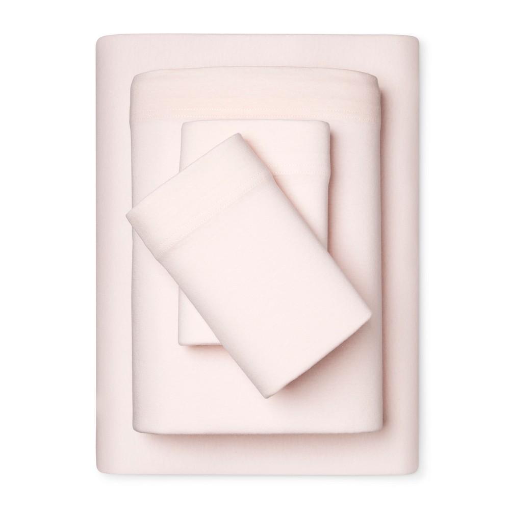 Eventide Jersey Sheet Set (Queen) Charming Pink - Room Essentials