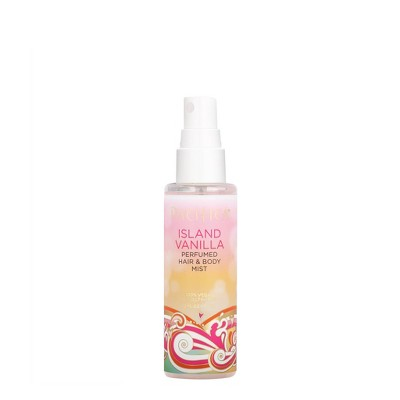 Women's Island Vanilla by Pacifica Mini Perfumed Hair & Body Spray - 2 fl oz