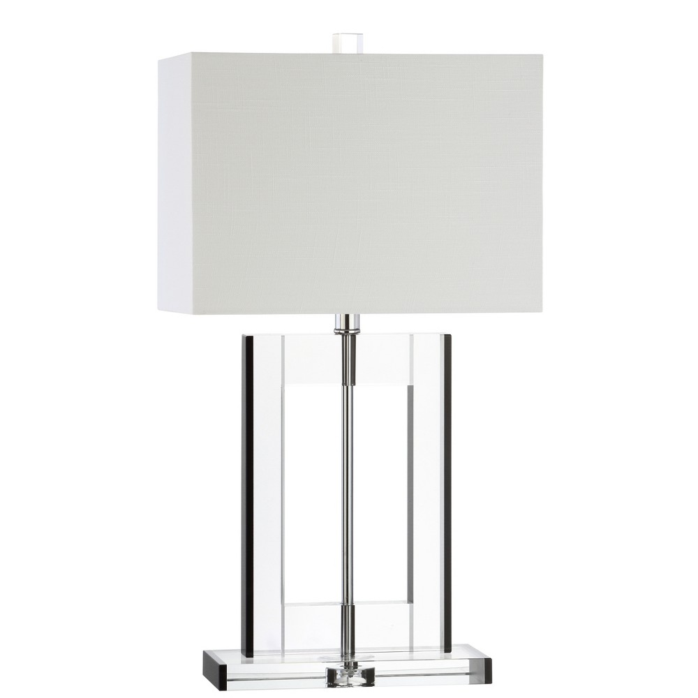 """Image of """"26"""""""" Parish Crystal LED Table Lamp Clear (Includes Energy Efficient Light Bulb) - JONATHAN Y"""""""