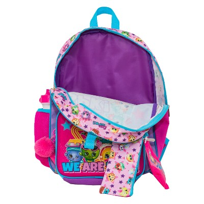 Shopkins 16\' Kids' Backpack - 7pc Set