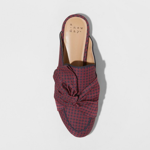 8291ac93975e Women's Natalee Bow Backless Mules - A New Day™ Red. Shop all A New Day