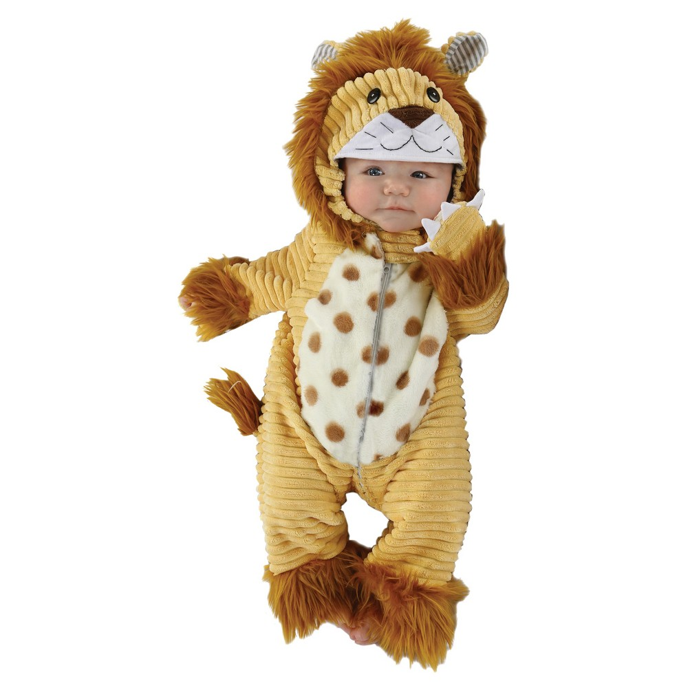 Image of Halloween Baby Safari Lion Costume 3-6M - Diamond Collection, Adult Unisex, Size: Small, MultiColored