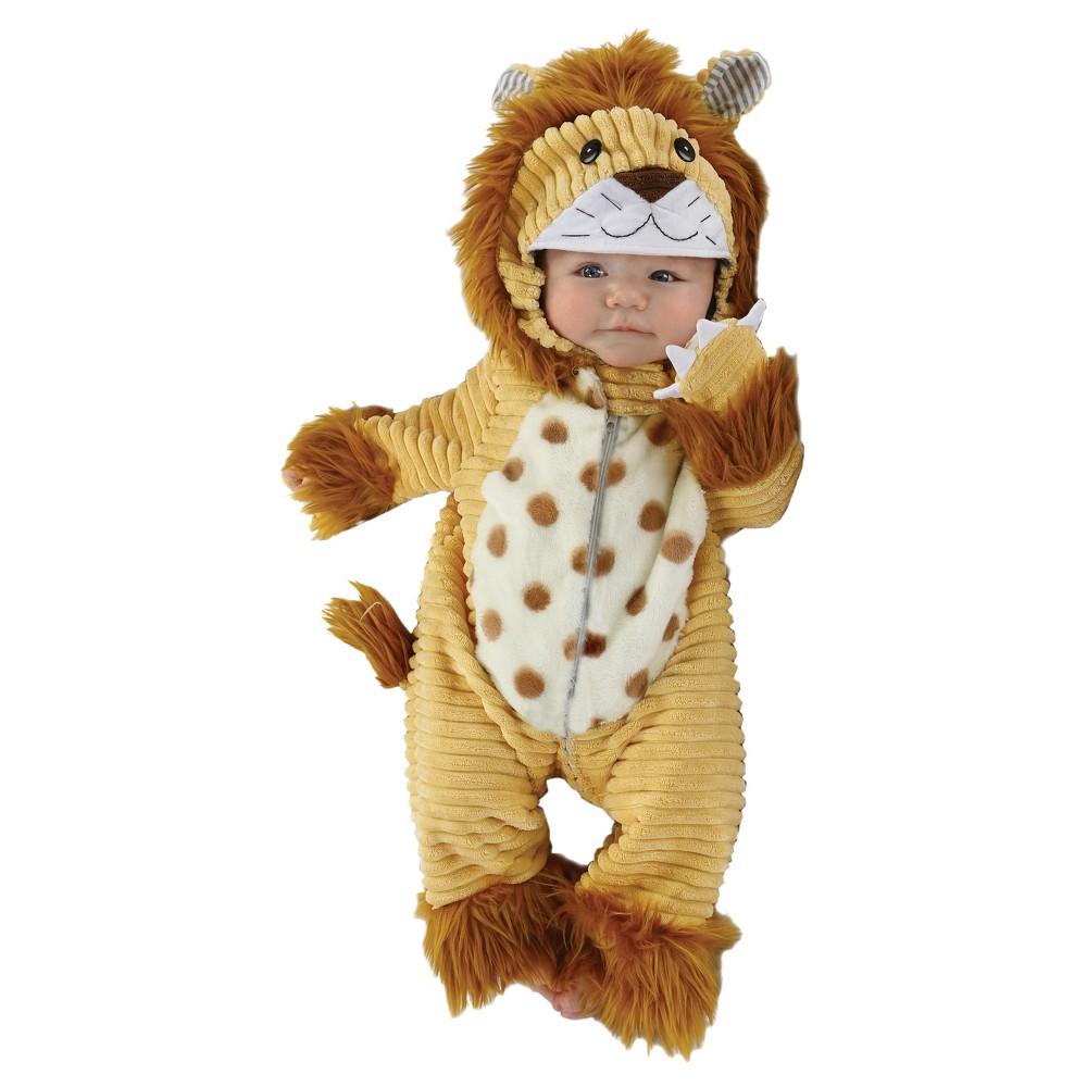 Baby Safari Lion Costume 3-6M - Diamond Collection, Infant Unisex, Multi-Colored