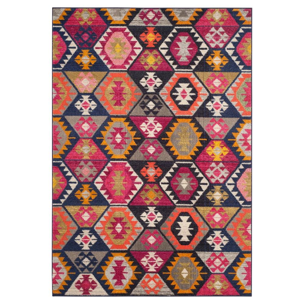 Eloise Area Rug - Pink / Multi ( 5' 1