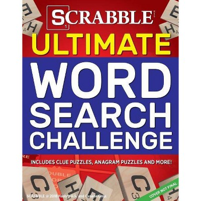 Scrabble Ultimate Word Search Challenge - (Ultimate Puzzle Books)  (Paperback) : Target
