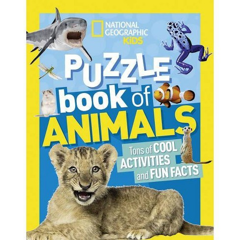 National Geographic Kids Puzzle Book: Animals - (Ngk Puzzle Books) (Paperback) - image 1 of 1