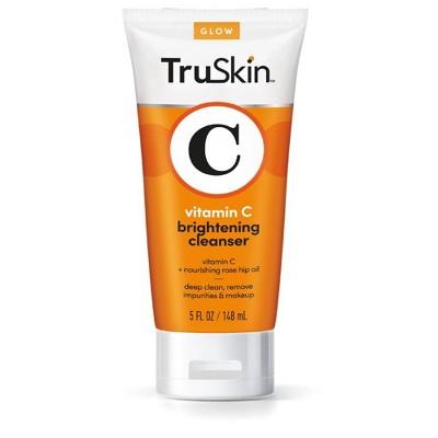 TruSkin Vitamin C Brightening Cleanser for Face - 5 fl oz