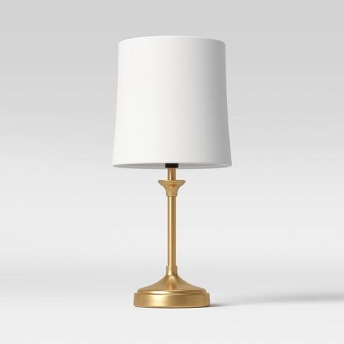 Metal Stick Lamp Mini Lamp - Threshold™ - image 1 of 4