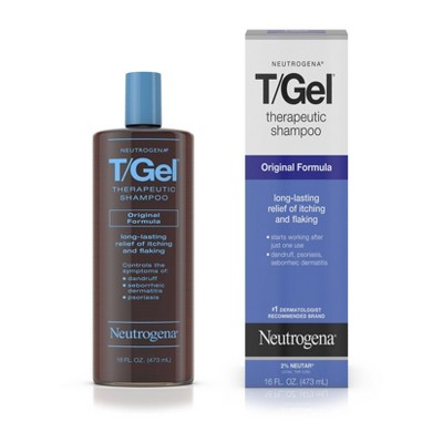Shampoo & Conditioner: Neutrogena T/Gel