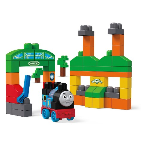 Mega Bloks Thomas & Friends Building Blocks - 60pc - image 1 of 7