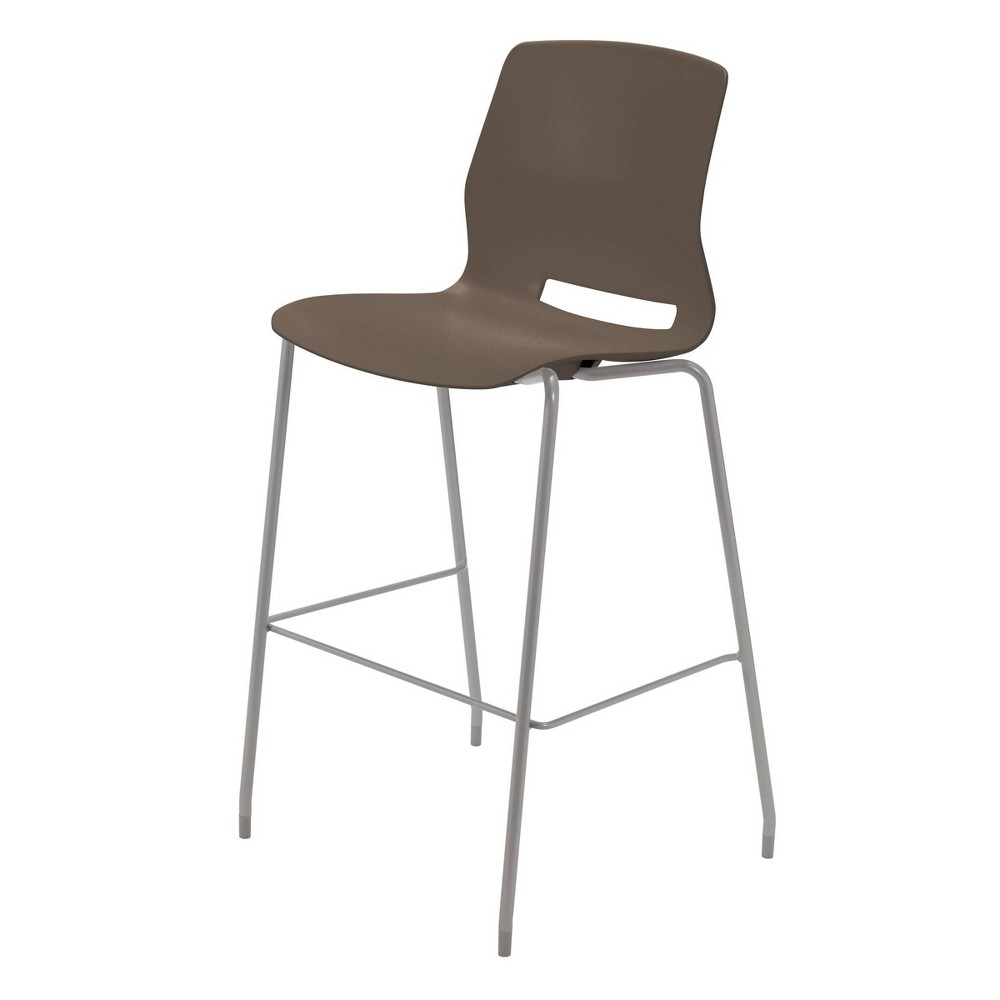 30 Lola Stacking Office Stool Stone Brown - Olio Designs