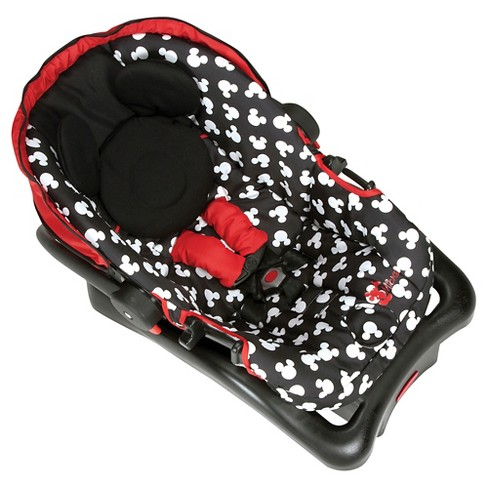 DisneyR Mickey Mouse Light N Comfy Luxe Infant Car Seat