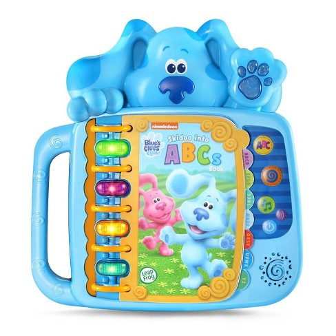 LeapFrog  Blue's Clues & You! Skidoo Into ABCs Book - Blue - image 1 of 4