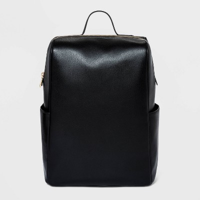 Zip Closure Full Side Pocket Backpack - A New Day™