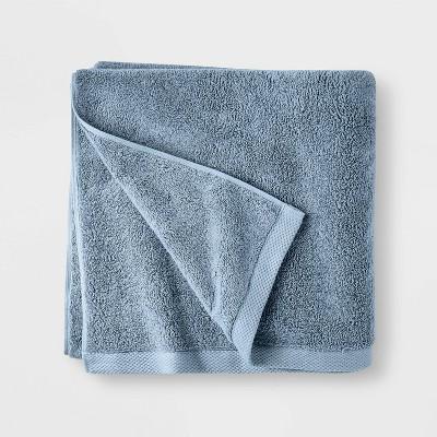 Organic Bath Towel Sky Blue - Casaluna™