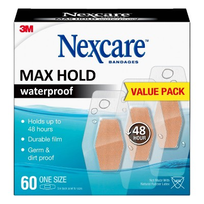 Nexcare Max Hold All One Size - 60ct