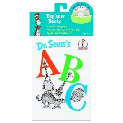 Dr. Seuss's ABC Book & CD - (Beginner Books Read-Along Book & Audio) (Mixed Media Product)