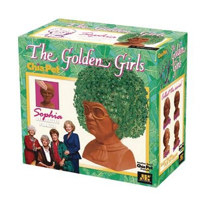 The Gold Girls Sophia Planter Brown - Chia Pet