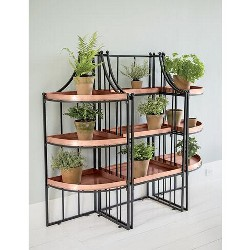 Essex Plant Stand Set with Trays - Gardener's Supply Company