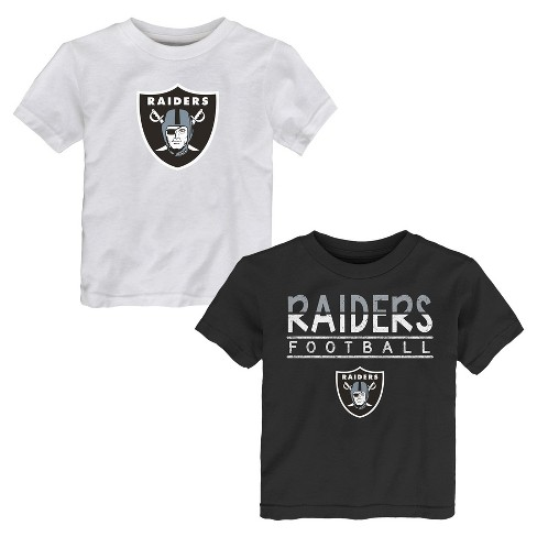 Oakland Raiders Toddler Boys  2pk T-Shirt Set   Target 2ad2015f8