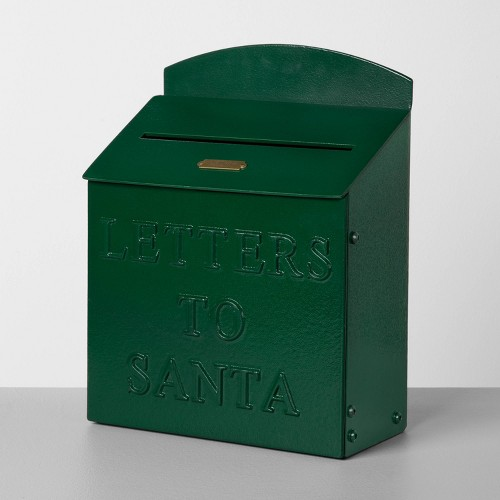 Letters to Santa Mailbox Green - Hearth & Hand with Magnolia