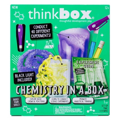 Thinkbox 19pc Chemistry in a Box Craft Activity Kit