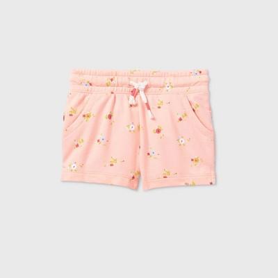 Toddler Girls' Knit Pull-On Shorts - Cat & Jack™ Light Pink 4T