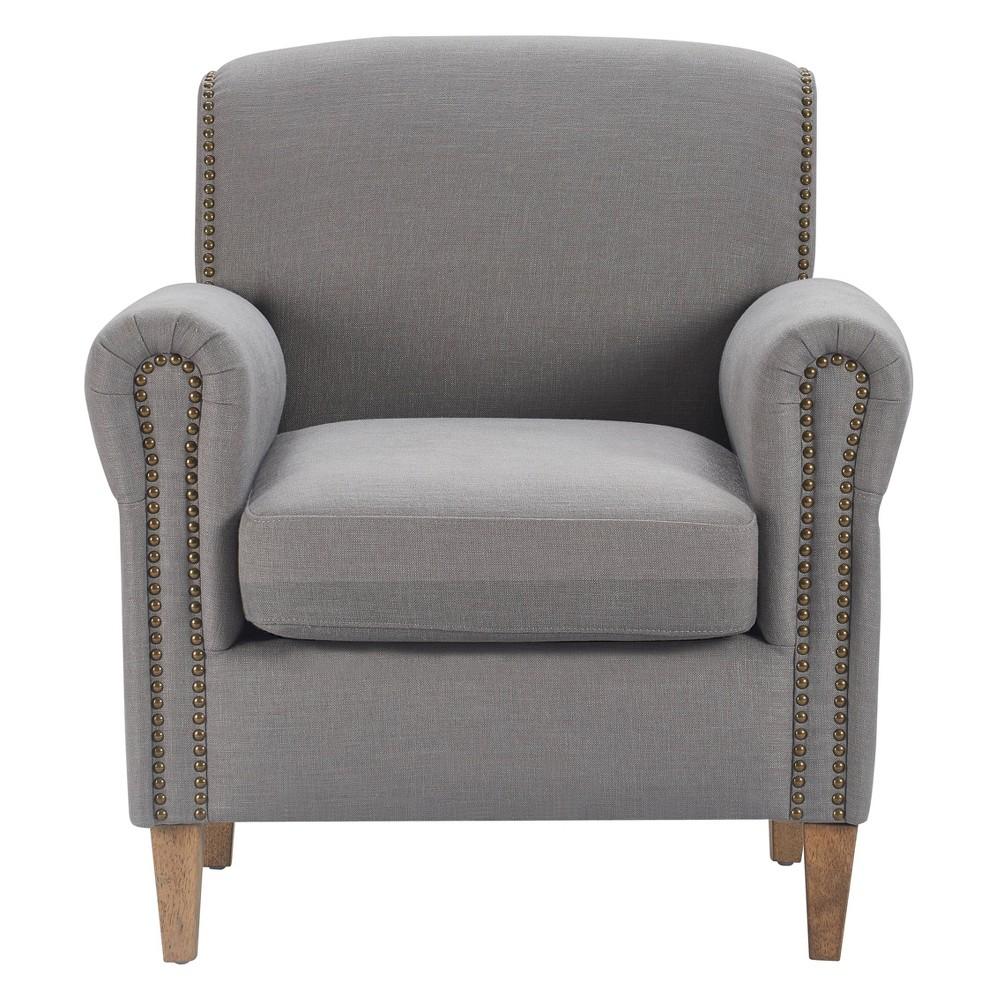 Elmhurst Accent Chair Antique Gray - Finch Reviews